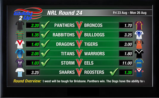 Giddy-Up TV - Sports - NRL Round
